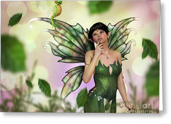 Fae Spring Greeting Card