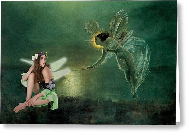 Faerie Magick Greeting Card