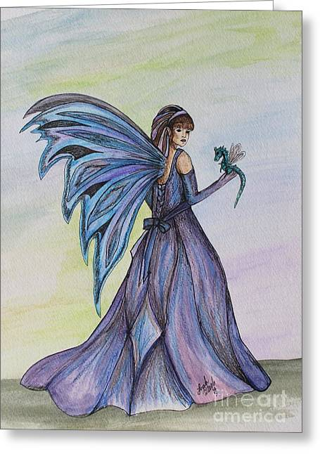 Faery Worlds Greeting Card