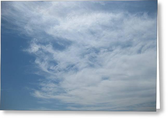 Fair Skies Of Summer Greeting Card