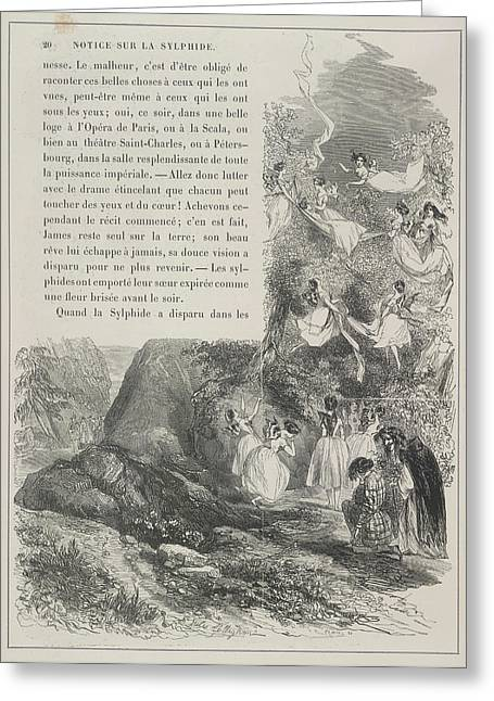 Fairies Greeting Card by British Library