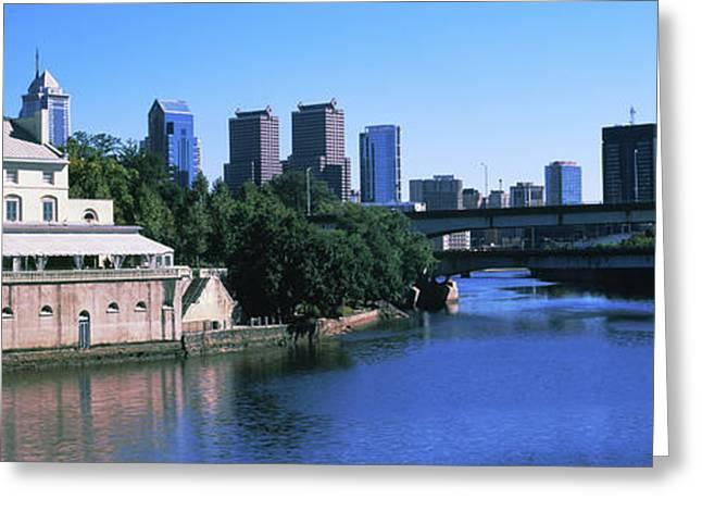 Fairmount Water Works, Philadelphia Greeting Card