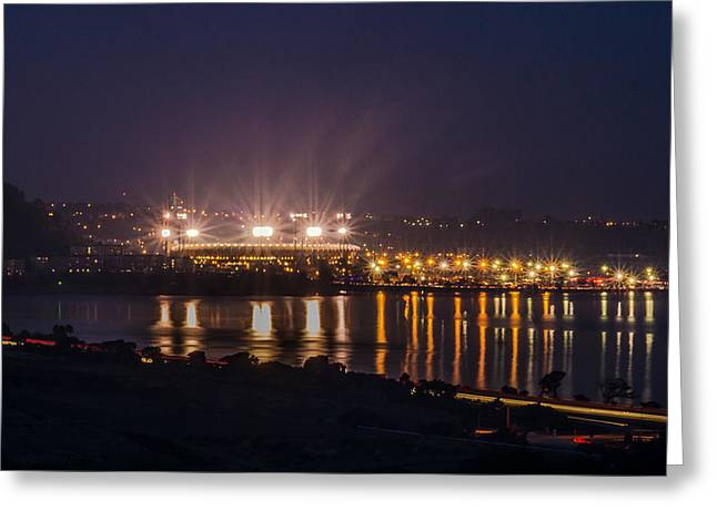 Fairwell Candlestick Park 2 Greeting Card by Randy Straka
