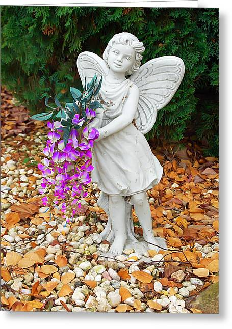 Fairy Greeting Card by Aimee L Maher Photography and Art Visit ALMGallerydotcom