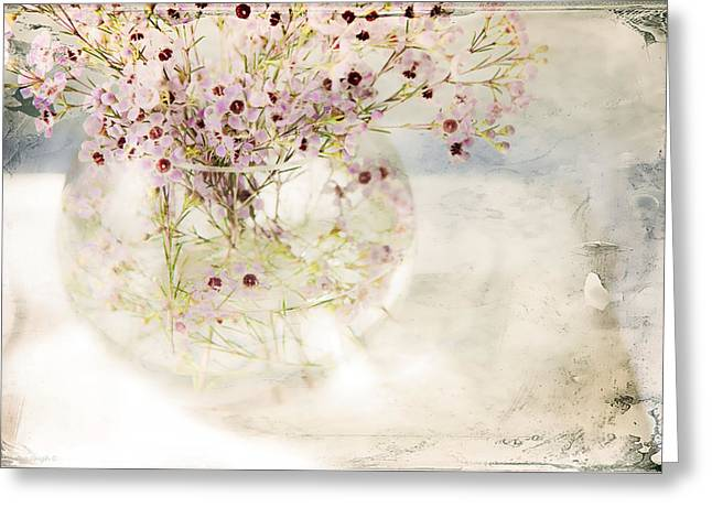 Fairy Bouquet Greeting Card by Theresa Tahara