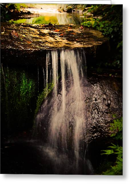 Fairy Falls Greeting Card by Loriental Photography