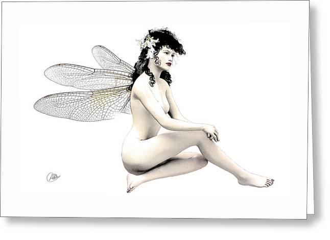 Fairy Fortune  Greeting Card by Quim Abella