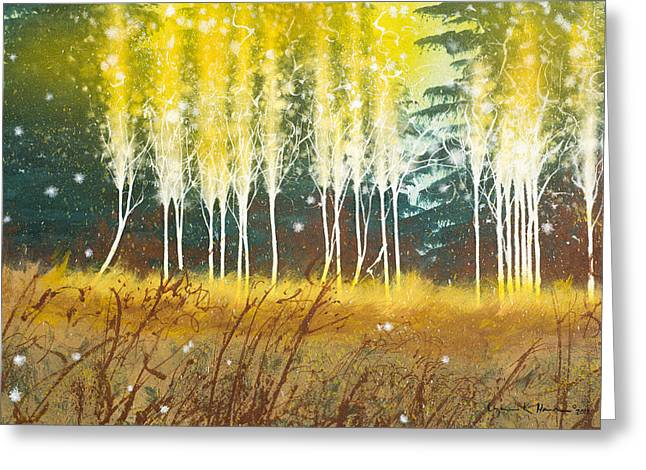 Fairy Trees Greeting Card