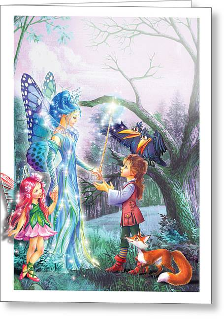 Fairy Wand Greeting Card