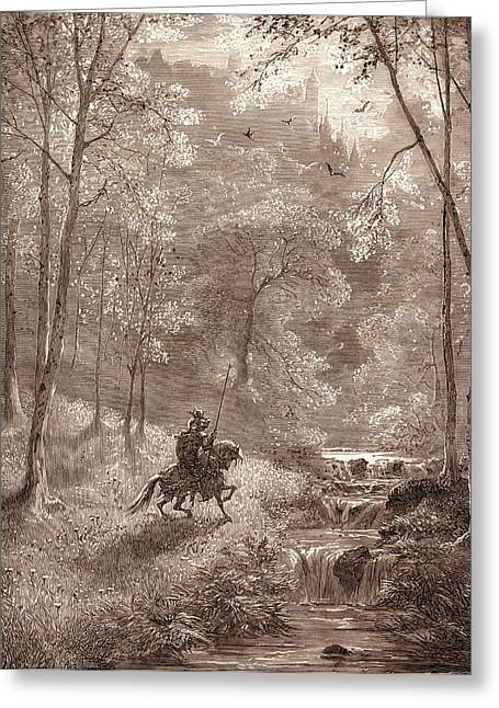 Fairyland, By Gustave DorÉ. Dore, 1832 - 1883 Greeting Card