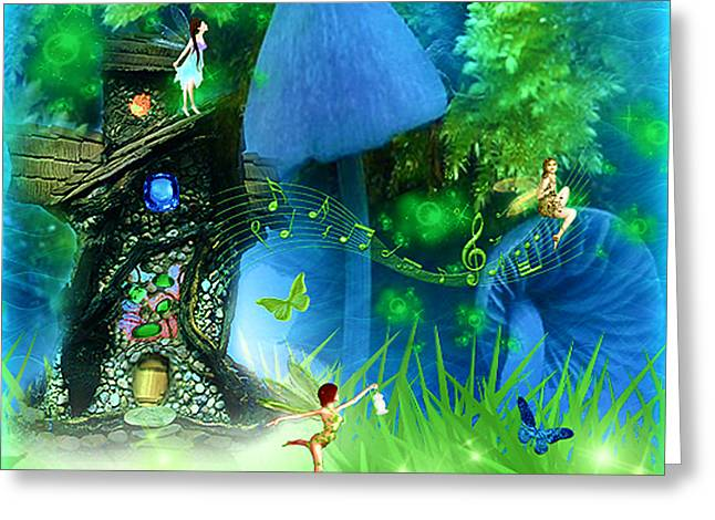 Fairyland - Fairytale Art By Giada Rossi Greeting Card