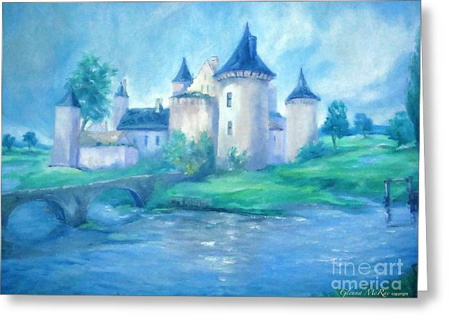Fairytale Castle Where Dreams Come True Greeting Card