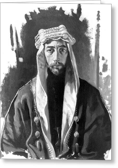 Faisal I (1883-1933) Greeting Card by Granger