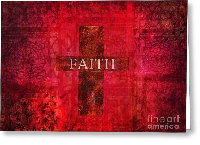 Faith Cross  Greeting Card