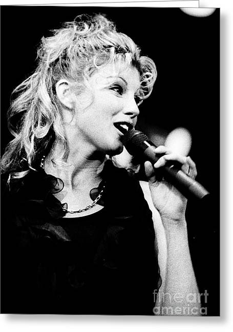 Faith Hill 5 - 1995-1 Greeting Card by Gary Gingrich Galleries