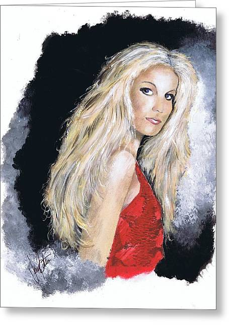 Faith Hill Greeting Card