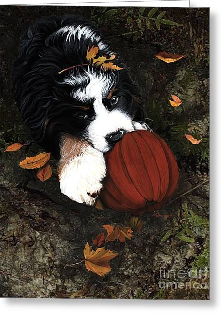 Fall 4 U Greeting Card by Liane Weyers