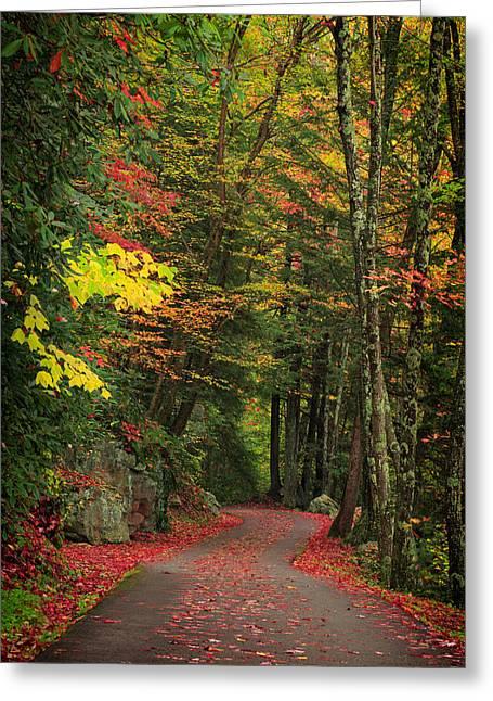 Fall 6 Greeting Card by Emmanuel Panagiotakis