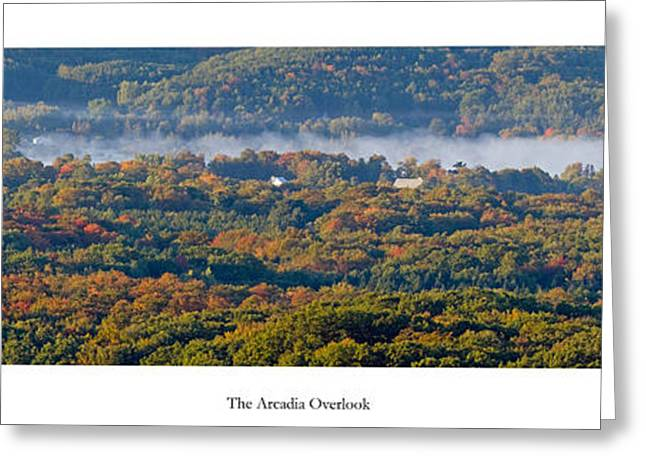 Fall At Arcadia Overlook Greeting Card by Twenty Two North Photography