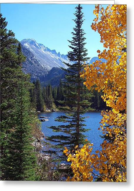 Fall At Bear Lake Greeting Card