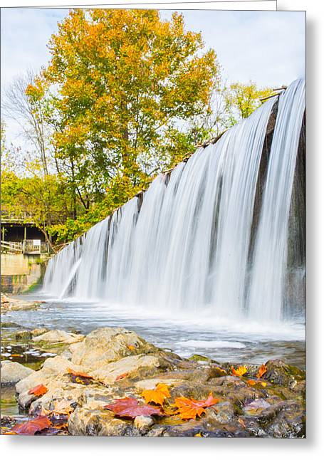 Fall At Buck Creek Greeting Card