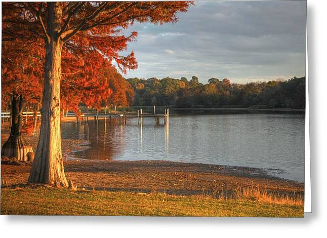 Fall At Georgia Lake Greeting Card