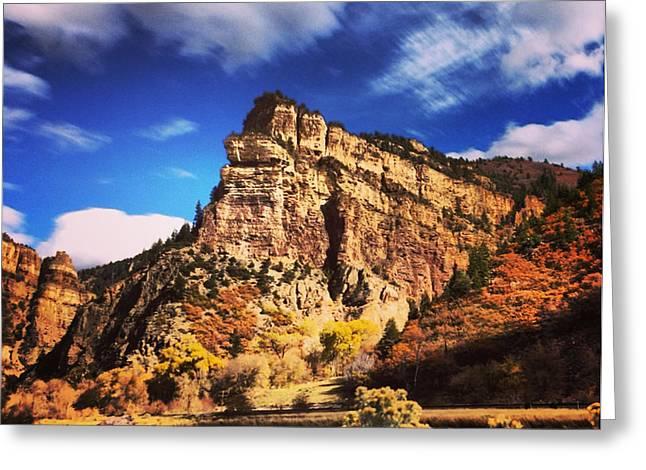 Fall At Hanging Lake Colorado Greeting Card by Tory Stoffregen