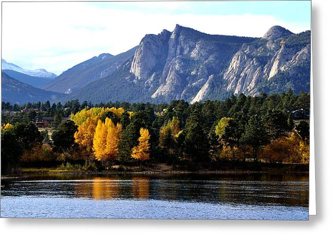 Fall At Lake Estes Greeting Card