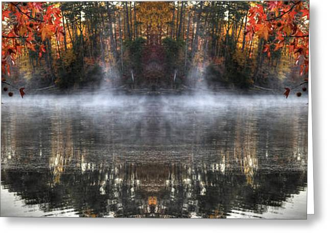 Fall At Lake Soddy Greeting Card