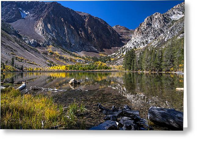 Fall At Parker Lake Greeting Card by Cat Connor