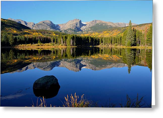 Fall At Sprague Lake Greeting Card