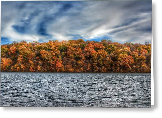 Fall At The Lake Greeting Card