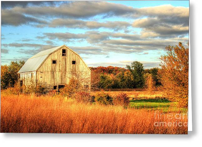 Fall Barn Beauty Greeting Card by Thomas Danilovich