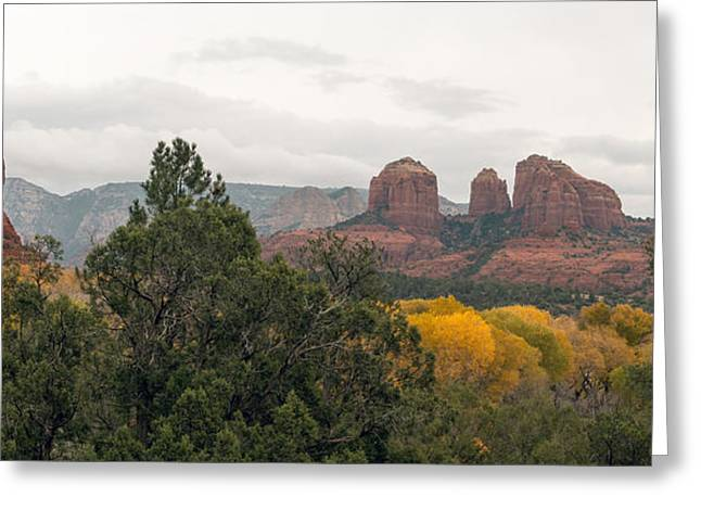 Fall Color Sedona 0495 Greeting Card