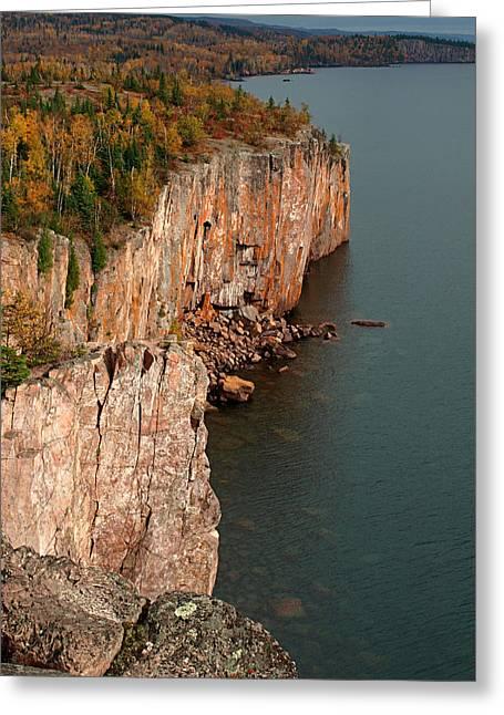 Fall Colors Adorn Palisade Head Greeting Card