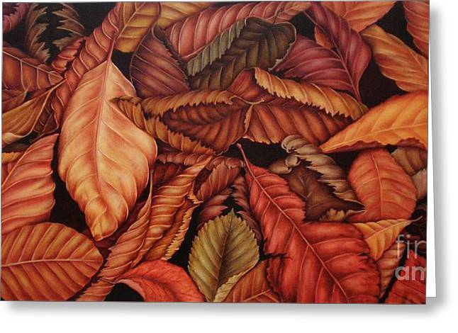 Fall Colors Greeting Card by Paula Ludovino