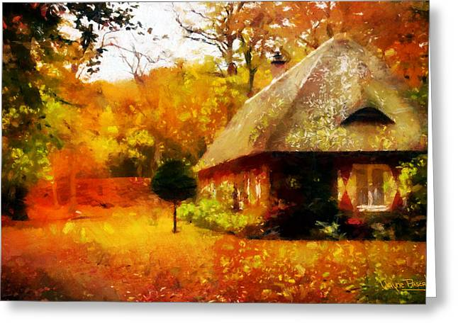 Fall Colors Greeting Card by Wayne Pascall