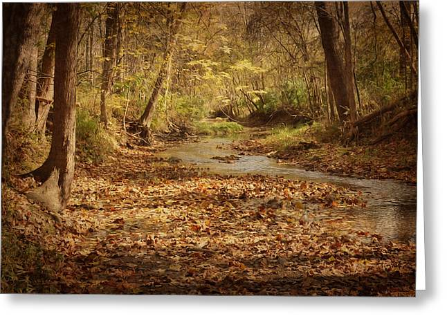 Fall Creek Greeting Card