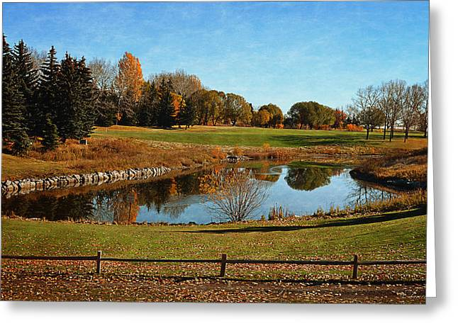 Fall Foliage Colors Greeting Card