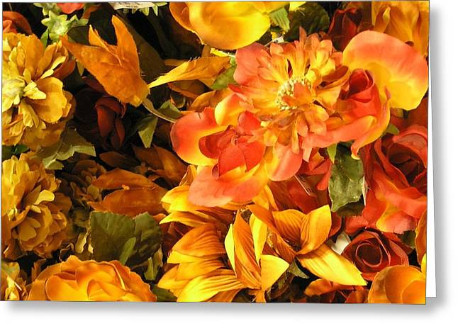 Fall In Bloom Greeting Card