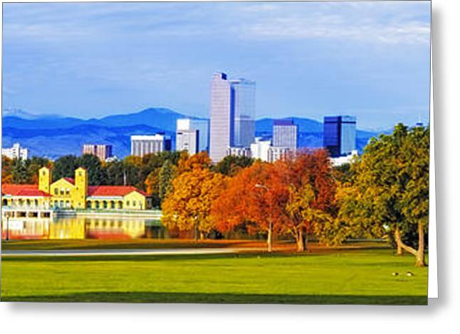 Fall In Denver Colorado Greeting Card