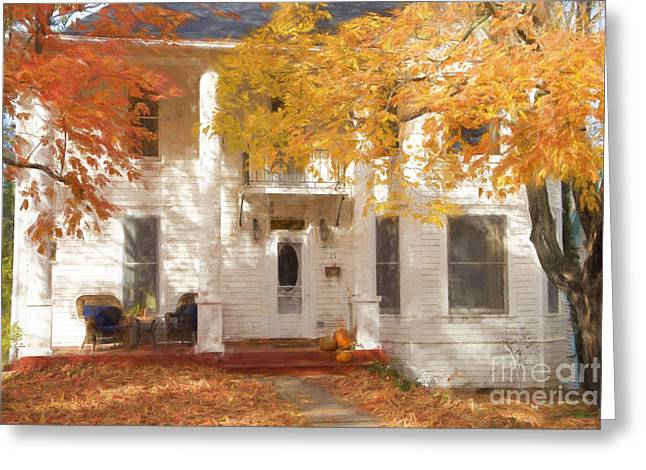 Fall In Eureka Springs Greeting Card