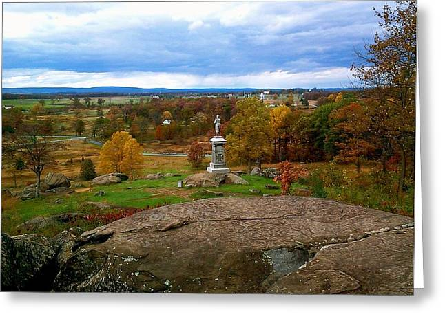 Fall In Gettysburg Greeting Card by Amazing Photographs AKA Christian Wilson