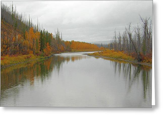 Fall In Glacier National Park Greeting Card