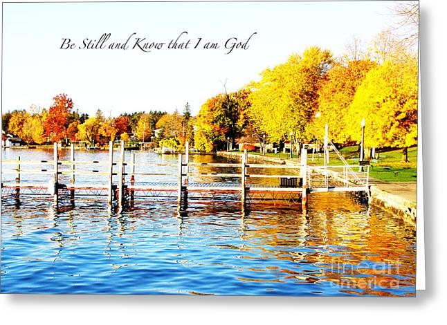 Fall In Skaneateles Ny Greeting Card
