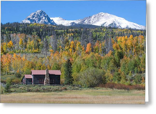 Greeting Card featuring the photograph Fall In Summit County by Andrew Serff