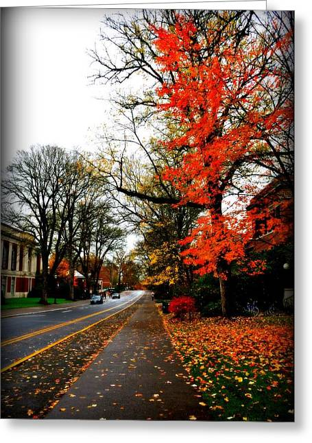 Fall In The Northwest Greeting Card