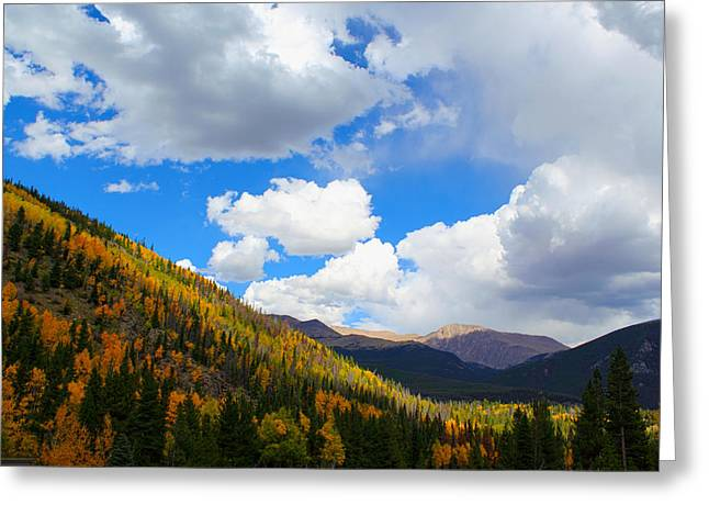 Fall In The Rockies Greeting Card