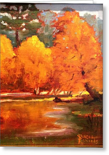 Fall  Greeting Card by Jenell Richards