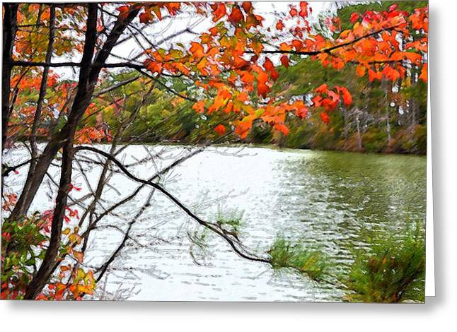 Fall Landscape 1 Greeting Card by Lanjee Chee